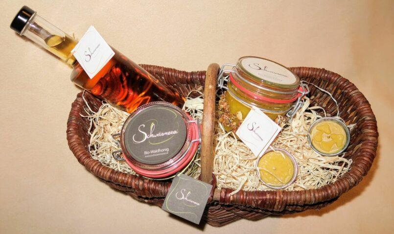 Geschenkset Honig und Honig Produkte
